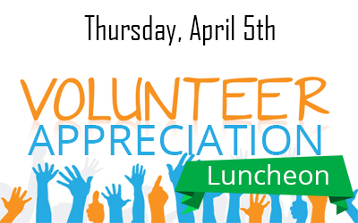Annual Volunteer Appreciation Luncheon